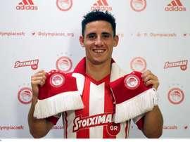 El portugués ya firmó con su nuevo club. Olympiakos