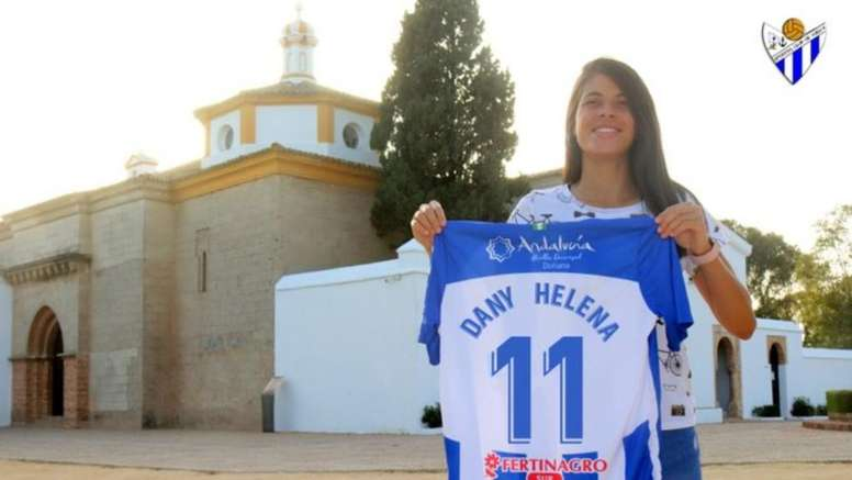 Dany Helena cierra el apartado de fichajes del Sporting de Huelva. SportingdeHuelva