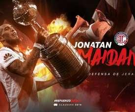 Maidana jugará en el fútbol mexicano. Toluca