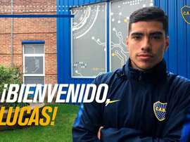 Lucas Olaza has joined Boca Juniors, to the annoyance of other top clubs. Twitter/BocaJuniors