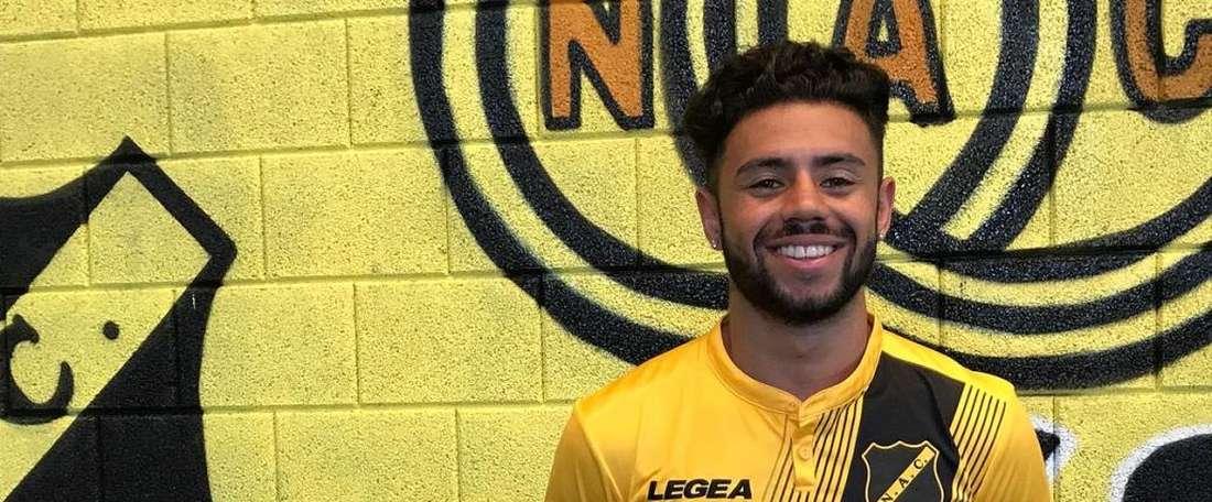 Paolo Fernandes sera de nouveau prêté au club hollandais. NACBreda