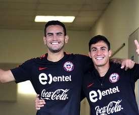 El chileno, una nueva opción que cobra fuerza para el 'Millonario'. EFE