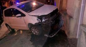 No hubo heridos en el accidente de Goñi. Captura/TyCSports