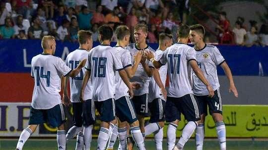 La Selección Rusa suma seis puntos en el torneo. Twitter/Cotif