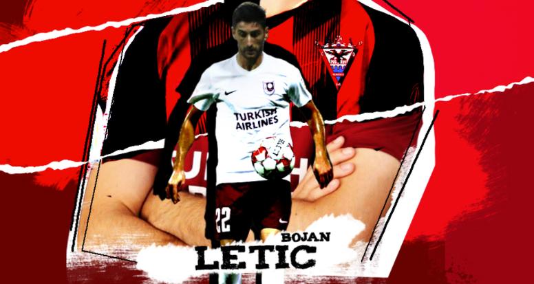El Mirandés incorpora al lateral zurdo Bojan Letic. CDMirandés