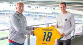 Felix Kroos assinou com o Braunschweig. Braunschweig