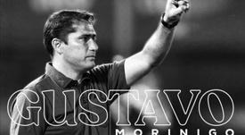Gustavo Morínigo, nuevo entrenador de Libertad. Twitter/Libertad