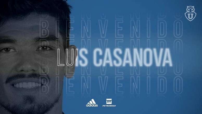 La 'U' espera a Jairo Vasquez y presenta a Casanova. UniversidaddeChile