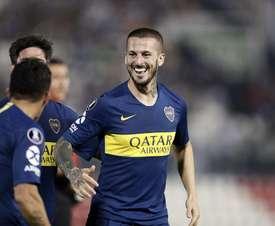 Benedetto mostró su amor por Boca. Twitter/BocaJuniors