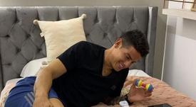 James presentó en sociedad a su segundo hijo. Twitter/JamesRodríguez