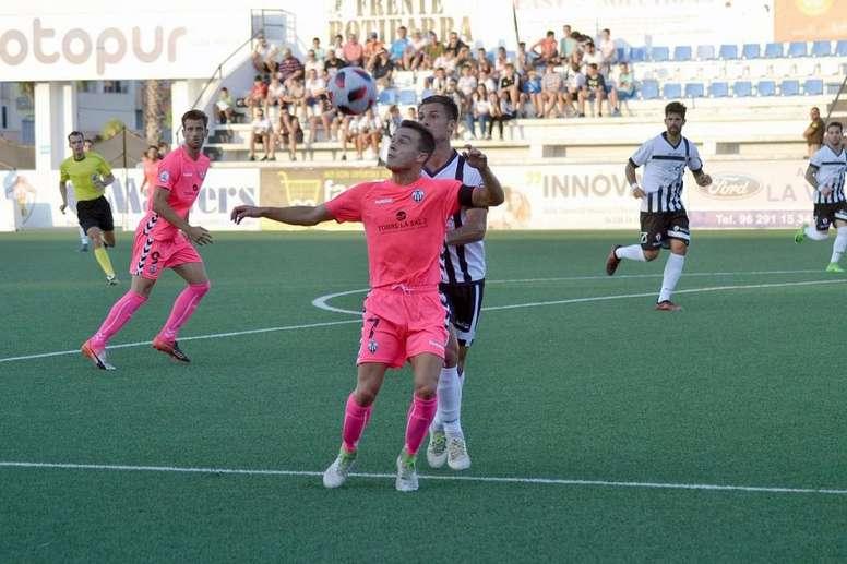 El Ontinyent ya espera rival en la Copa del Rey. Twitter/Castellon