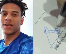 Todibo, emprestado ao Schalke 04. Twitter/S04_es