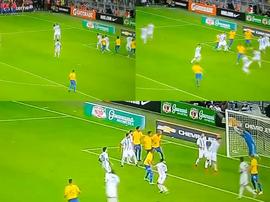 Brasil acabó ganando 1-0. SporTV