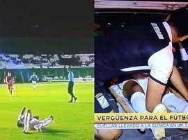 Incroyable mais vrai : il se casse la cheville et est emmené à l'hôpital en taxi !!! Captura/TigoSpo
