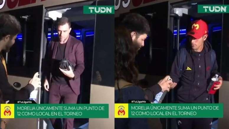 Las medidas contra el coronavirus: así se adapta el fútbol mexicano. Captura/TUDN