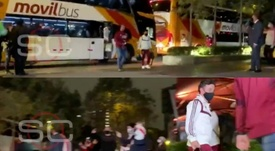River Plate llegó a Lima con presencia 'millonaria' en el hotel. Twitter/ESPN