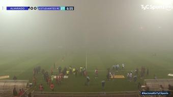 Suspendieron un partido en Argentina... ¡por la cantidad de niebla! Captura/TyCSports