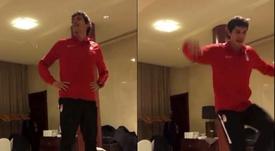 La particular novatada de Vallejo: ¡tuvo que cantar una jota! Captura/Instagram