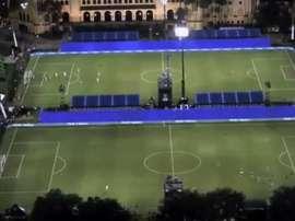 MLS tem dois jogos simultâneos no mesmo local. Captura/MLS