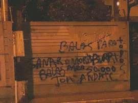 No es la primera vez que suceden actos vandálicos contra los miembros de Quilmes.