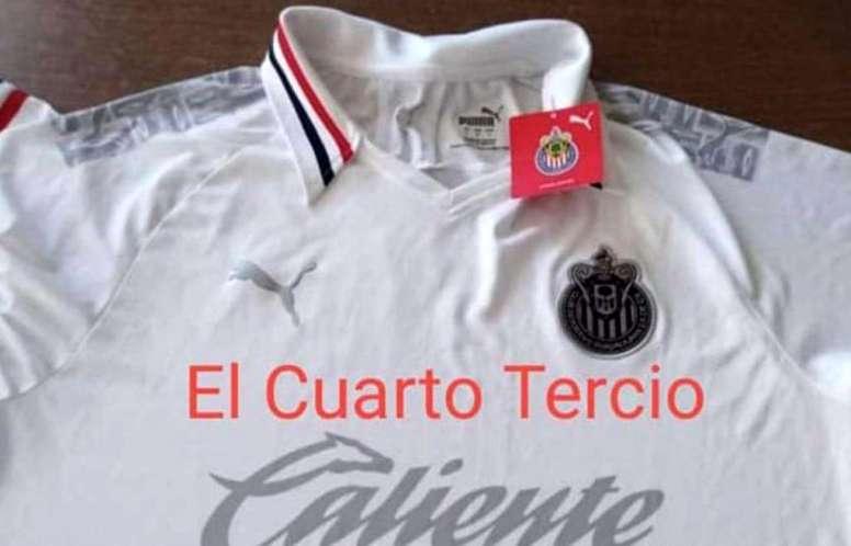 ¿Se filtró la próxima camiseta de Chivas? ElCuartoTercio