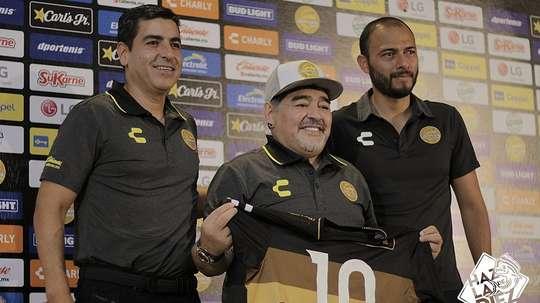 Diego ya piensa en cómo reforzar al equipo. DoradosSinaloa
