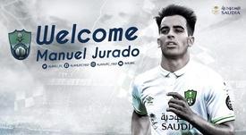 El centrocampista español inicia una nueva etapa fuera de España. AlAhli