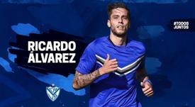 Vélez anuncia el regreso de 'Ricky' Álvarez. VélezSarsfield