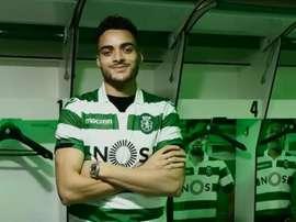 Tiago Ilori assinou esta terça-feira pelo Sporting. Sporting_CP