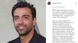 Xavi Hernández testou positivo para o novo coronavírus. Instagram/xavi