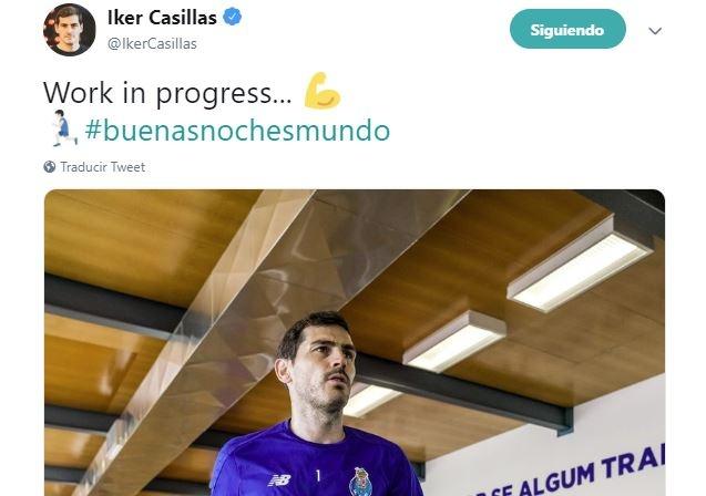 Iker tiene planeado tomar una decisión en 2020. Twitter/IkerCasillas