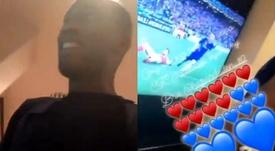 Locura de Drogba en su declaración de amor a Hazard. Instagram/DidierDrogba