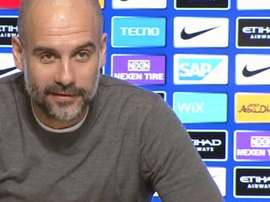 Guardiola lassé des questions de la presse. Youtube/ManCity