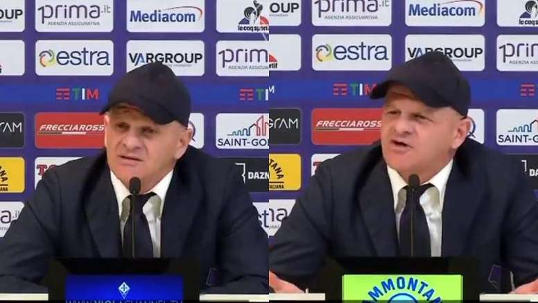 Iachini, único en sus ruedas de prensa. Fiorentina