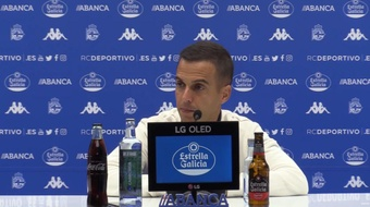 Borja Jiménez destacó la racha de cuatro victorias seguidas. Captura/RCDeportivo