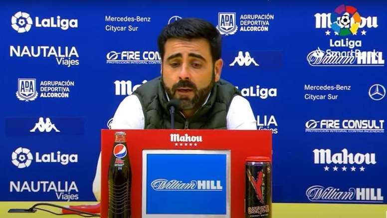 David Gallego valoró el 1-2 del Sporting en Alcorcón. LaLiga