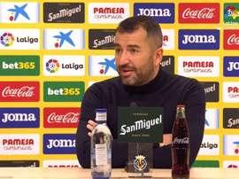 Diego Martínez habló tras el duelo ante el Villarreal. Captura/LaLiga