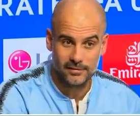 Guardiola fez a análise do sorteio da Champions. Captura/ASTV