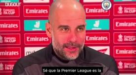 A Pep le preguntaron por la Superliga. DUGOUT/ManchesterCity