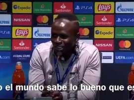 Para Mané, Messi merece ganhar a Bola de Ouro. Captura/ElChiringuito