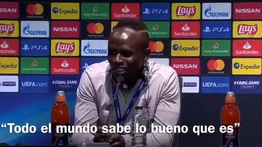Sadio Mane thinks Messi should win the Ballon D'or. Captura/ElChiringuito