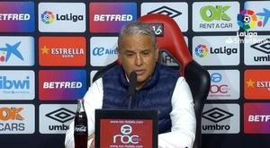 Pellicer habló tras la derrota del Málaga ante el Mallorca. Captura/LaLiga