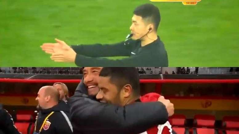 El Shangai se llevó de una forma insólita la Supercopa. Youtube