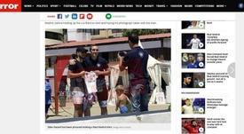 Hazard está quase acertado com o Real Madrid.  Captura/Mirror