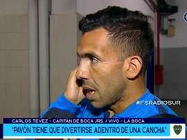 Téves quis falar sobre as palavras de Messi. Captura/FoxSports
