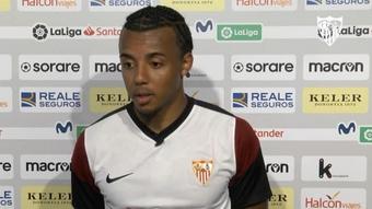 Koundé y una comparecencia que evidenció su compromiso con el Sevilla. SevillaFC