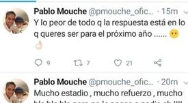Pablo Mouche cargó contra la dirigencia de San Lorenzo. Twitter/PabloMouche