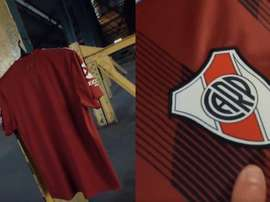 River anunció su nueva camiseta alternativa. Twitter/RiverPlate