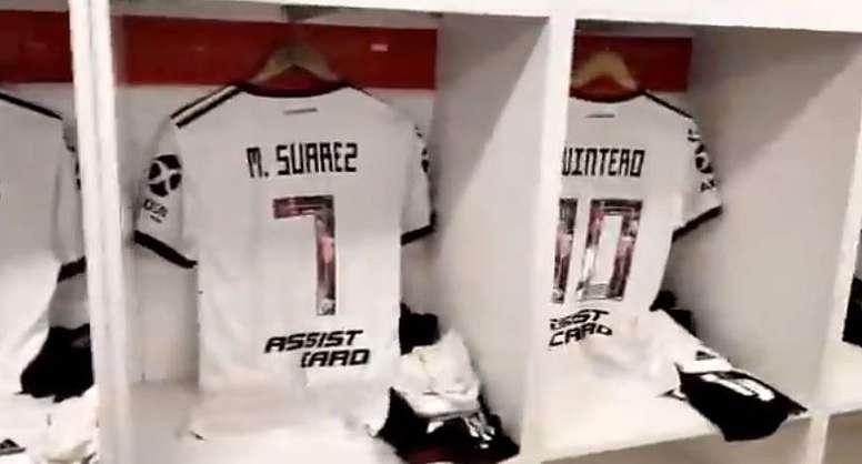 River estrena la camiseta en homenaje a la final de Madrid. RiverPlate