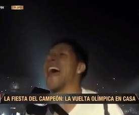 Enzo Pérez Copa Libertadores. Captura/FoxSports